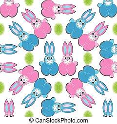 Hare rabbit easter