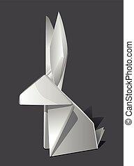 paper fold tinker fairy tale figure imagination white