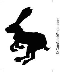 hare, symbol of cowardice