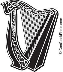 harfa, ikona
