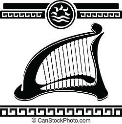 harfa, starożytny