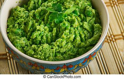 Hari Matar Ka Nimona, Fresh Green Peas Curry