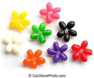 haricot, fleurs