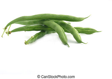 haricots verts, ficelle