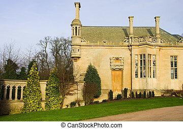 Harlaxton Manor Architecture - Architecture of the Harlaxton...