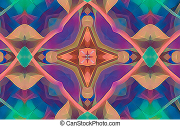 harlequin abstract colorful background