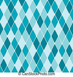 Harlequin winter frozen seamless pattern. Color bright decorative background vector illustration.