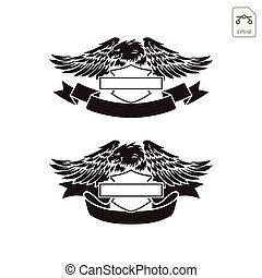 harley davidson emblem or logo symbol vector isolated -...