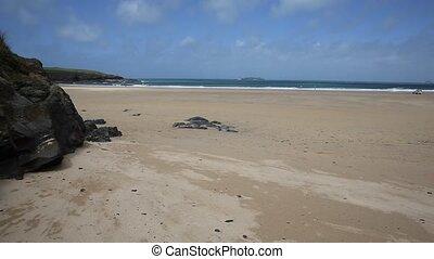 Harlyn Bay beach North Cornwall PAN - Harlyn Bay North...