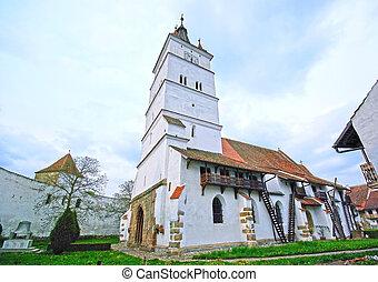 Harman fortified church - Medieval Saxon fortress of Harman...