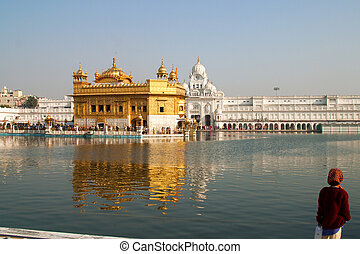 Harmandir Sahib Amritsar India - Harmandir Sahib, also...