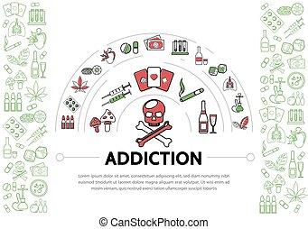 Harmful Addictions Template - Harmful addictions template...