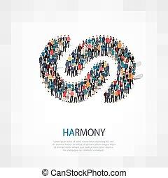 harmony people crowd