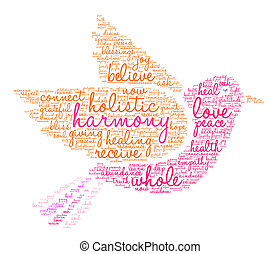 Harmony Word Cloud