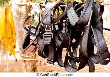 harnais, alpinisme