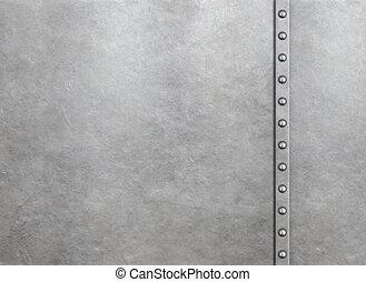 harnas, metaal, klinknagelen, achtergrond