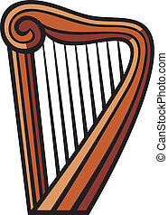 harp clip art and stock illustrations 5 534 harp eps illustrations rh canstockphoto com harp clip art images celtic harp clipart