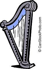 Harp vector