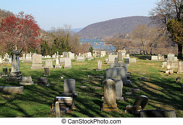 The Harper Cemetery overlooks the picturesque town of Harpers Ferry, West Virginia, and contains the remains of notable figures from the town?s past