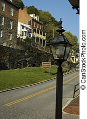 Harpers Ferry, Virginia - Street Scene, Harpers Ferry,...