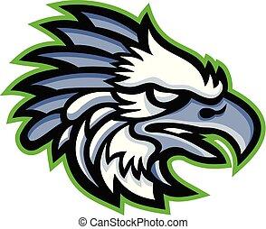 harpy-eagle-head-side-MASCOT