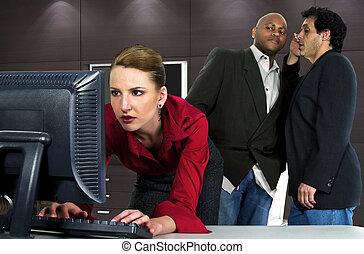 harrassment, sessuale, ufficio