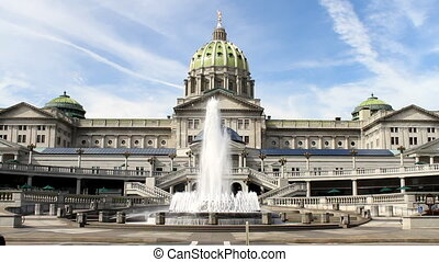 Harrisburg Pennsylvania Capitol - Pennsylvania state capitol...