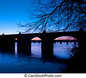 Harrisburg Pennsylvania Market Street Bridge