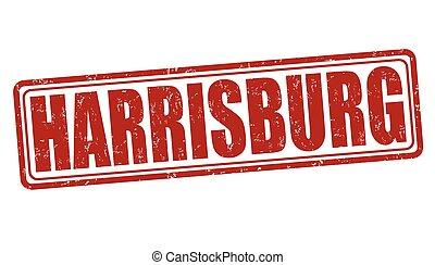 Harrisburg stamp