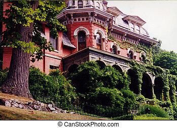 Harry Packer Mansion Jim Thorpe Pennsylvania