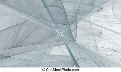 Harsh blizzard. - HD abstract fractal art transformation...