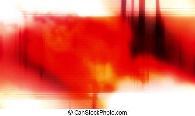 Harsh contrast template style loop - Red orange white harsh...