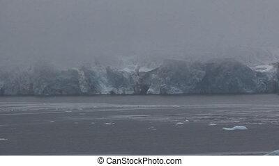 Harsh glaciers of high Arctic latitudes.
