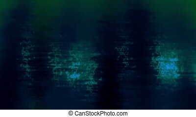 Harsh Smoky Blue Green Looping Abstract Animated Background
