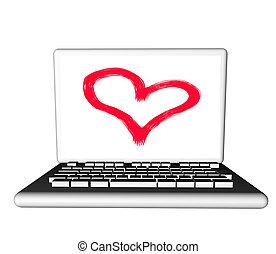 hart, draagbare computer