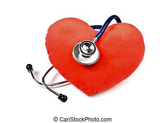 hart, en, stethoscope