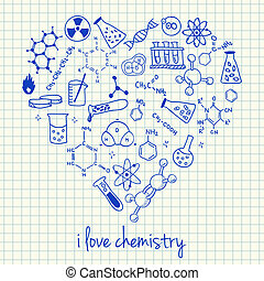 hart gedaante, chemie, werkjes