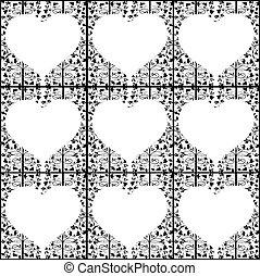 hart knippatroon