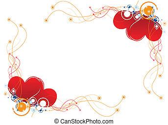 hart, ontwerp, achtergrond