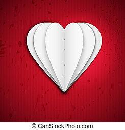 hart, papier