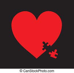 hart, raadsel