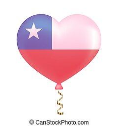 hart, vlag, vorm., chili