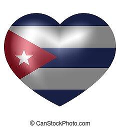 hart, vlag, vorm., cuba