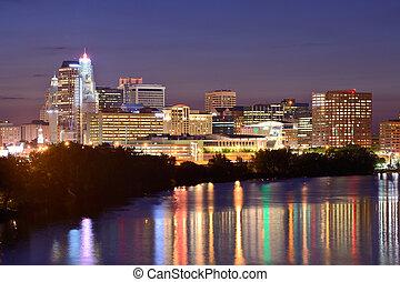 Hartford Connecticut Skyline - Skyline of downtown Hartford...