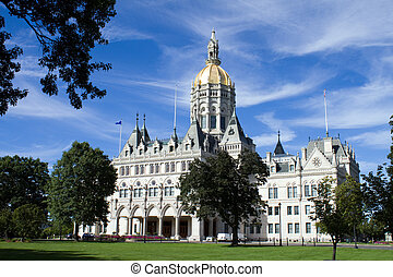 Hartford Connecticut State Capitol
