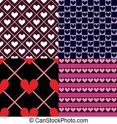hartjes, seamless, pattern%u044b