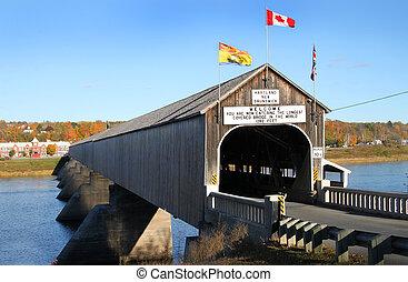 Hartland wooden covered bridge