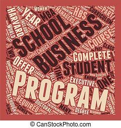 harvard business school 1 text background wordcloud concept