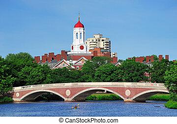 Harvard campus in Boston