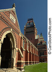 harvard campus - Campus of Harvard University in Boston,...